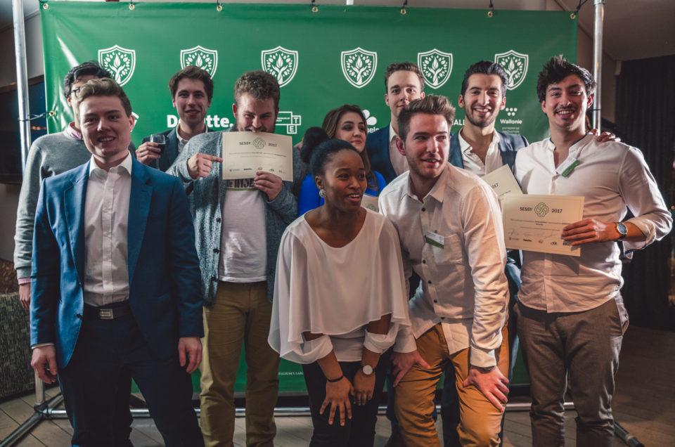 L'Écho – Les étudiants entrepreneurs mis à l'honneur